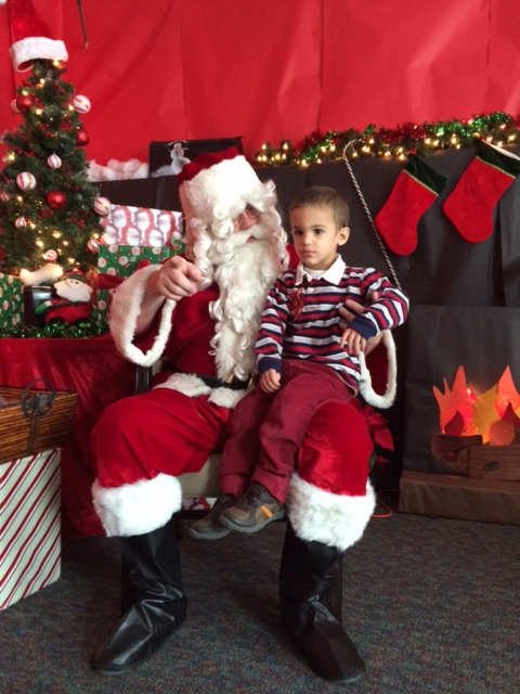Ethan and Santa